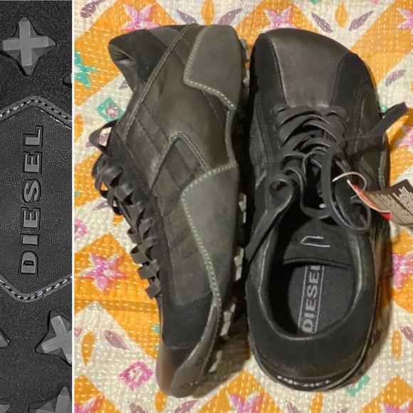 Diesel Shoes | Diesel Square Toe Shoe